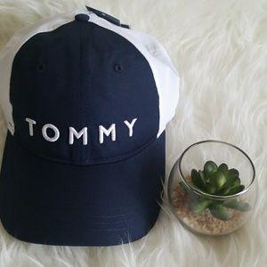 Tommy Hilfiger Blue White Dad's Hat